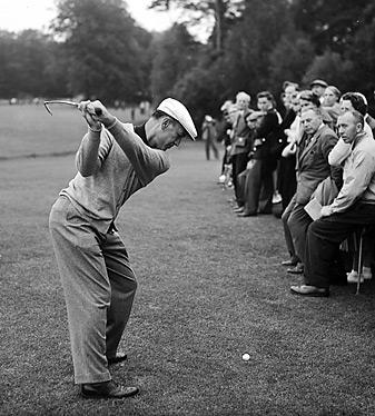 Ben Hogan won nine majors between 1946 and 1953.