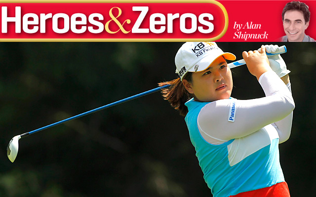 Inbee Park will chase her fourth straight major title this week at St. Andrews.