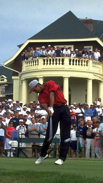 Tiger Woods vinder 1995 Us Amatør Golfcom-1049