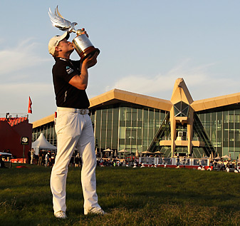 Jamie Donaldson won his second career title at the Abu Dhabi Championship.