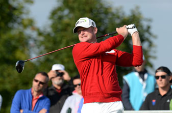 Jamie Donaldson retained his lead at the Czech Masters with a second-round 69.