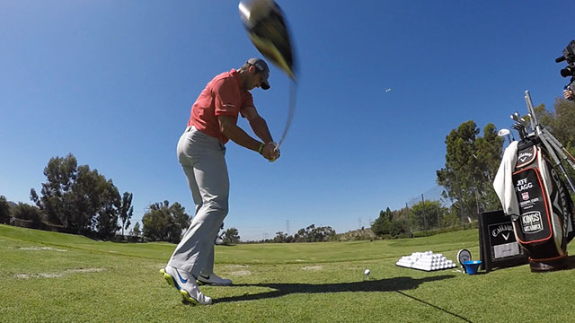 Jeff Flagg is one of the Las Vegas 8 who will compete for the long drive championship Tuesday at the Paiute Golf Resort.