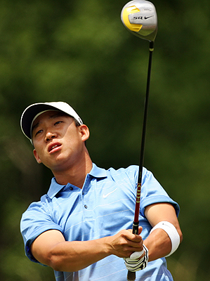 PGA Tour rookie Anthony Kim has four Top 10 finishes in 2007.