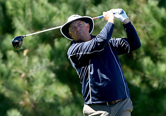Kirk Triplett (seen here in 2013) shot a 6-under 66 on Sunday to finish 16-under for the tournament.