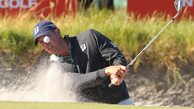 Matt Kuchar is in a four-way tie for fifth in the individual competition at the World Cup.