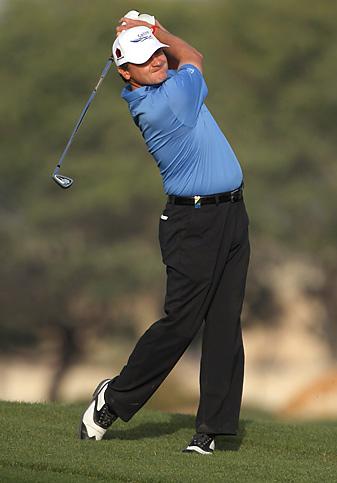 Paul Lawrie won the Qatar Masters by four shots.