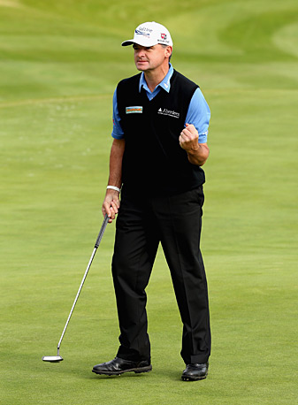 Paul Lawrie has six top-10 finishes this year.