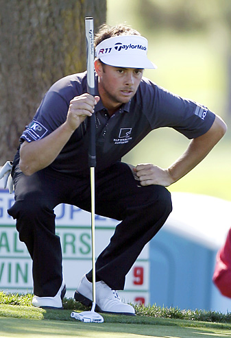 Spencer Levin shot 29 on the back nine at Torrey Pines and finished with a 62.
