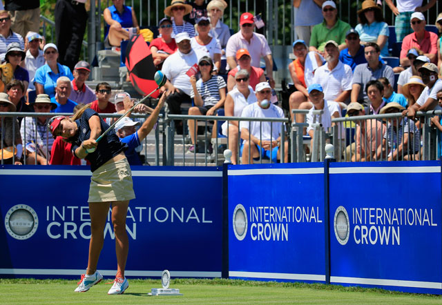 Lexi Thompson and Cristie Kerr won their match, but it wasn't enough as South Korea eliminated the US team.