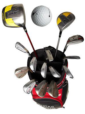 Lucas Glover's Nike golf equipment
