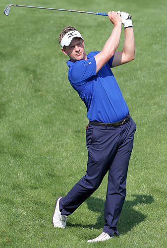 Luke Donald became the first British player to win the award since it began in 1990.