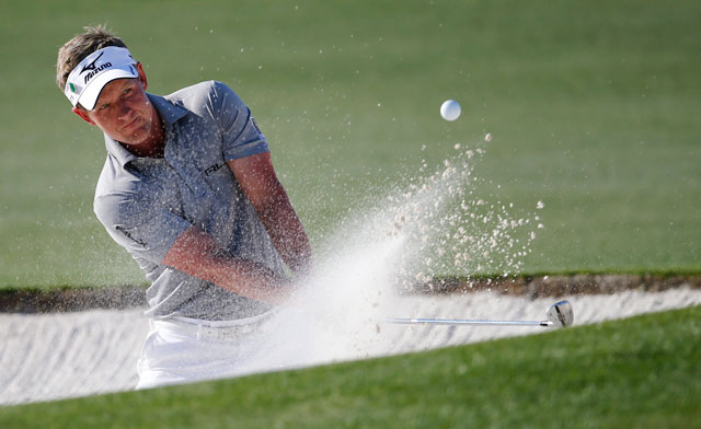 Luke Donald excels from the sand.