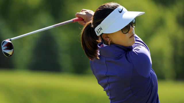 Michelle Wie birdied three of her last four holes to open with a 6-under 65.