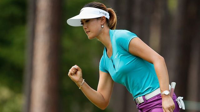 Michelle Wie shot an even-par 70 on Sunday.