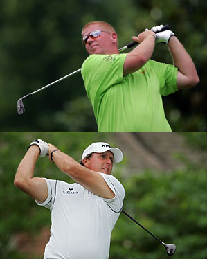 John Daly and Phil Mickelson returned to the PGA Tour this week at the St. Jude Classic.