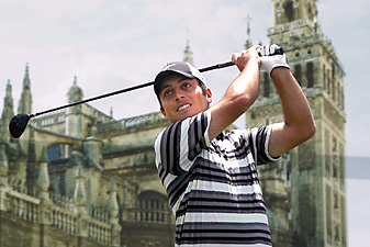 Francesco Molinari shot a 7-under 65 on Sunday, the low round of the week at the Spanish Open.