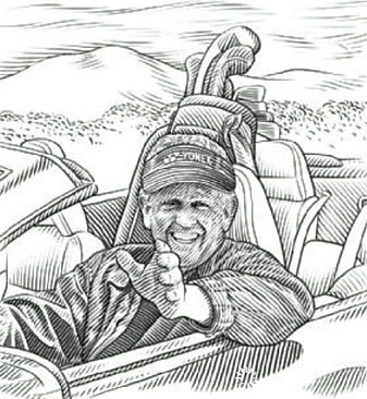 From sea to shining sea, and Route 66 to I-95, Colin Montgomerie is seeing America in a whole new light.