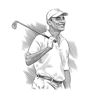 Barack Obama has played over 200 rounds of golf since taking office.