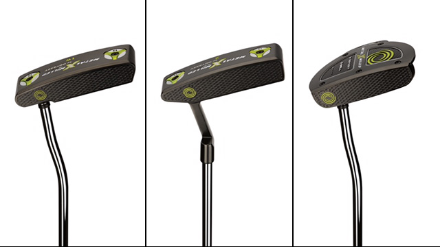 New Odyssey Metal-X Milled Putters: #1, #2 and 2-Ball varieties.