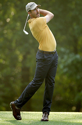 Geoff Ogilvy, shown here at the 2012 Masters, is not a sure bet to make it back to Augusta in 2013.
