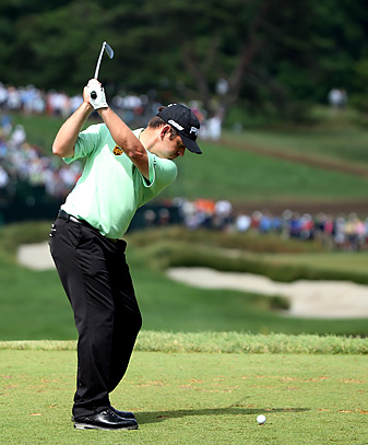 Louis Oosthuizen withdrew from the U.S. Open.