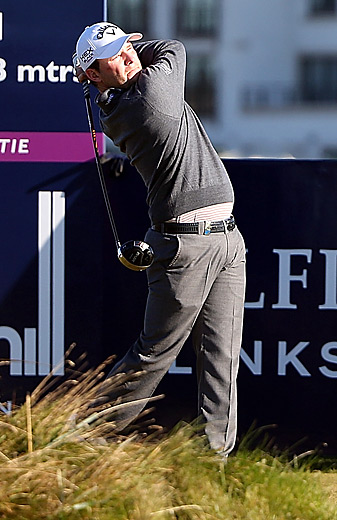 Branden Grace is chasing his fourth victory of 2012.