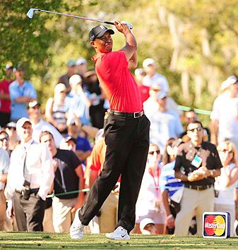 Tiger Woods won by five shots at Bay Hill.