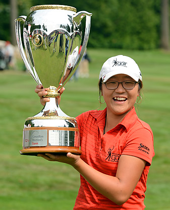 Lydia Ko, 15, became the youngest LPGA winner in history.