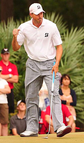 Matt Kuchar earned his fourth career victory on the PGA Tour.
