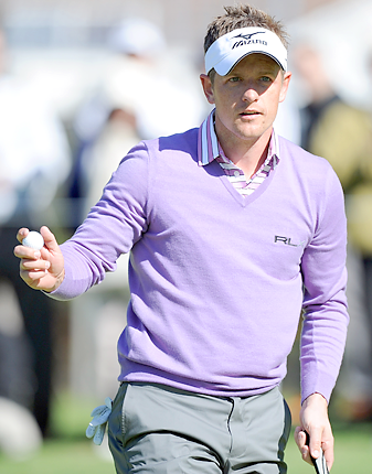 Luke Donald held the No. 1 ranking for 40 weeks.