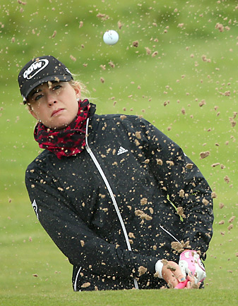 Paula Creamer will play with defending champion Yani Tseng and Ai Miyazato during the first two rounds.