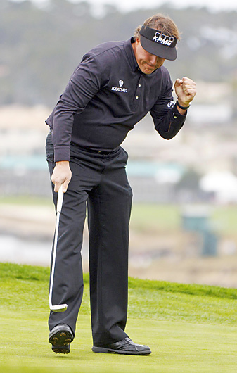 Phil Mickelson fired a final-round 64 to earn his 40th career PGA Tour victory.