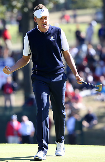 Ian Poulter went 4-0 at the 2012 Ryder Cup.