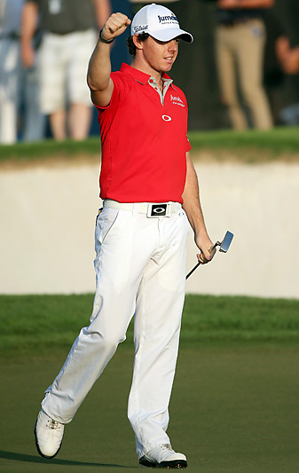 Rory McIlroy shot a Sunday 66 to earn his fifth title of 2012.