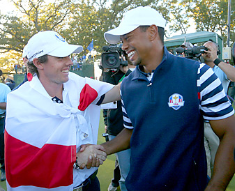 McIlroy and Woods will play together during the first two rounds at East Lake.