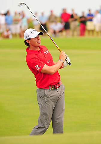 Rory McIlroy won the PGA by eight shots.