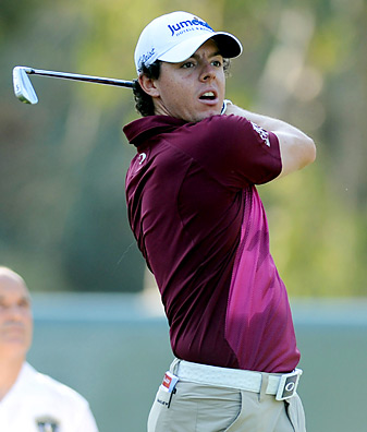 Graeme McDowell and Rory McIlroy would make a formidable duo for the Europeans.