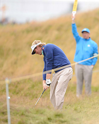 Brandt Snedeker shot a bogey-free 66 late in the day in Round 1.