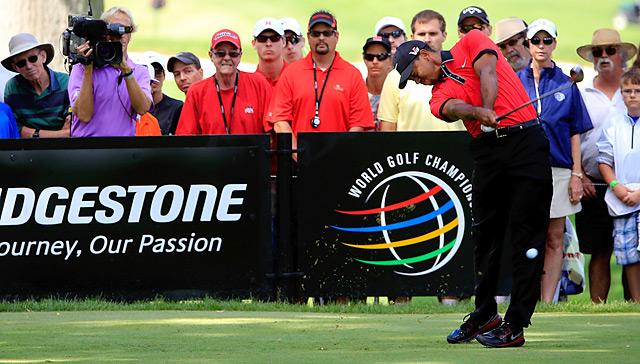 Tiger Woods won the Bridgestone Invitational by seven shots.