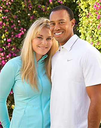 Woods and Vonn posted separated items on their Facebook pages Monday afternoon to announce their relationship.