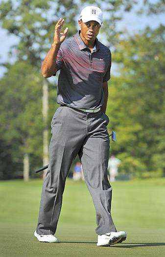 Tiger Woods may not be the closer he once was, but he does have three wins this season.