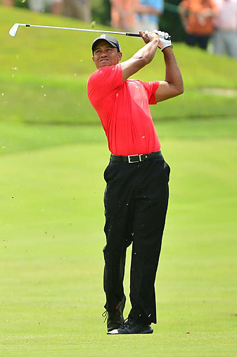 Tiger Woods earned his third win of 2012 and 74th of his career.