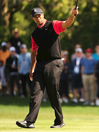 Tiger Woods won his eighth title at Bay Hill.