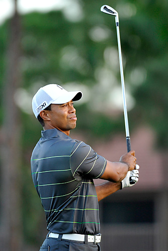 Tiger Woods is in the field this week at the Honda Classic.