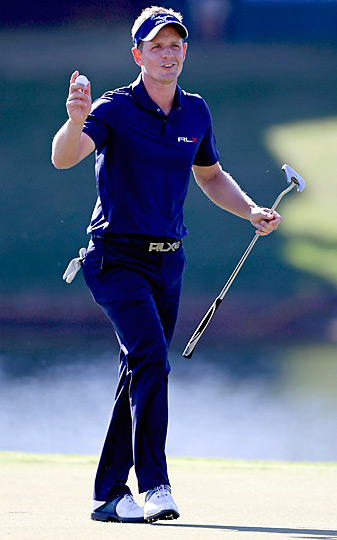Luke Donald shot a 30 on his final nine at TPC Sawgrass and just missed taking back the No. 1 ranking.