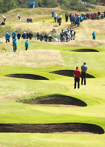 Lytham's 206 bunkers will present an imposing challenge for the field this week.