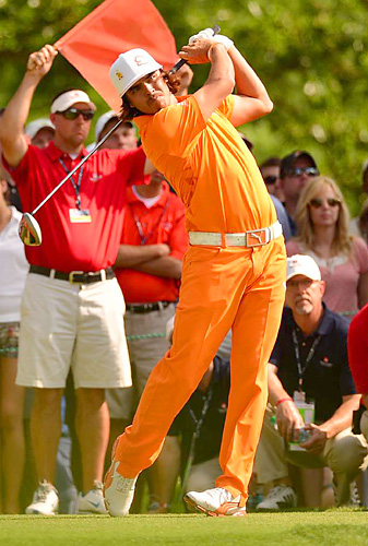 Rickie Fowler earned his first career PGA Tour win.