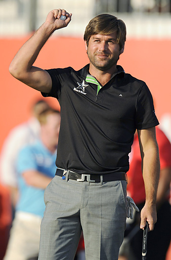 Robert Rock shot a 70 for a one-shot victory.