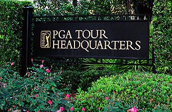 PGA Tour headquarters in Ponte Vedra Beach, Fla.