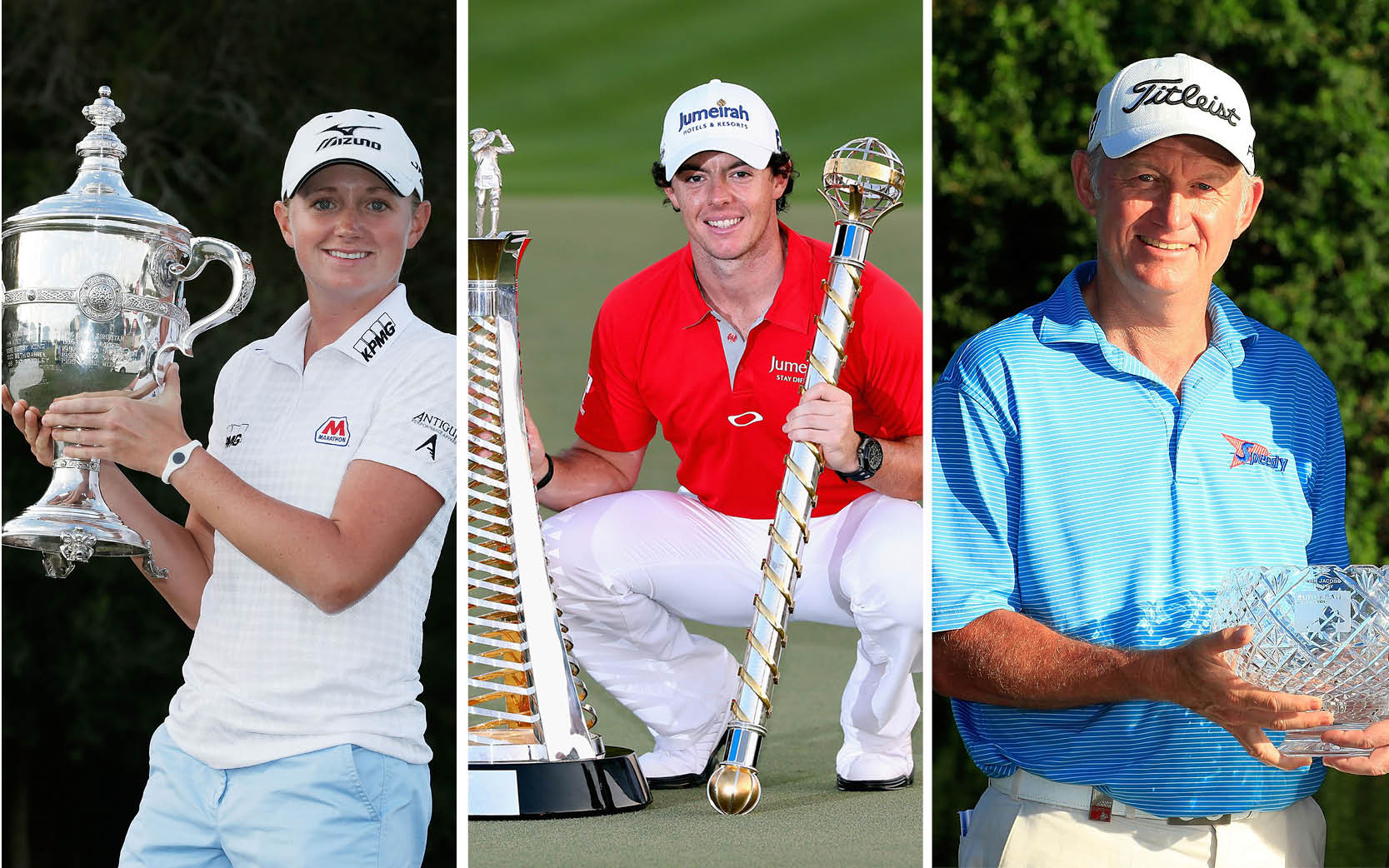 Stacy Lewis, Rory McIlroy and Roger Chapman were voted 2012 GWAA Players of the Year.